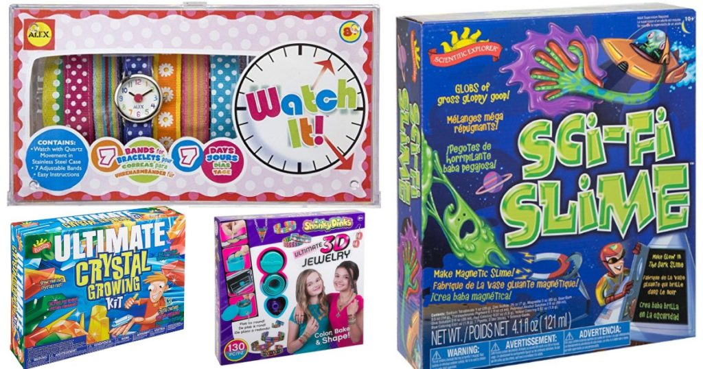 Alex toys deals diy slime kit 16 diy watch set 1179 amazon just dropped the price on a ton of different alex toys for today only we love giving the kids creative toys like science kits and crafting sets solutioingenieria Images