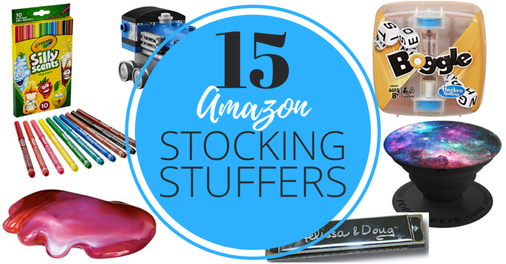 Check out all 15 of these last minute stocking stuffers on Amazon that will arrive on time for Christmas morning!