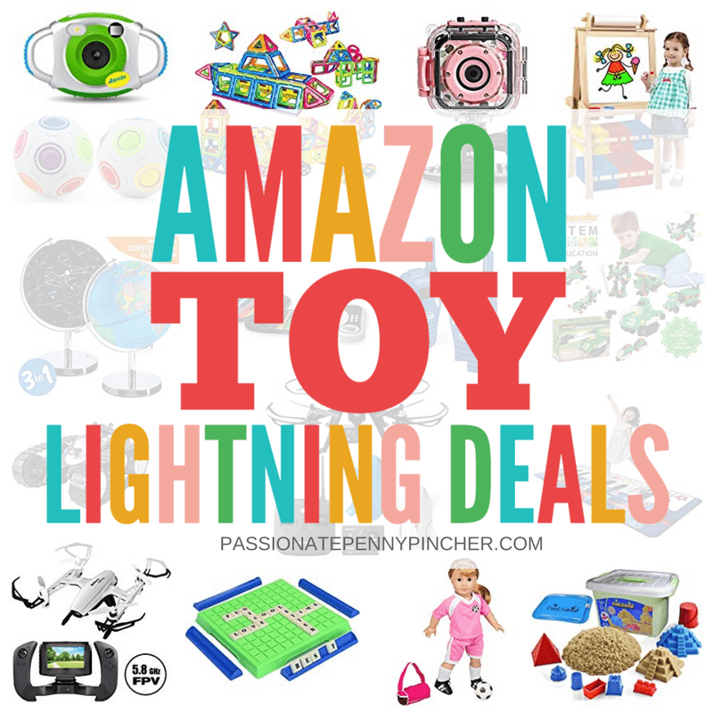 todays top amazon toy lightning deals we wont know what price theyll be at until they go live but if these are on your childs christmas list itll - Amazon Christmas List