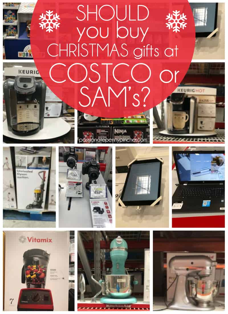 should you buy christmas gifts at costco or sams