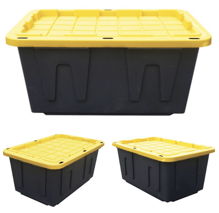 Centrex Tough Box 27 Gallon Storage Totes 629 Passionate Penny