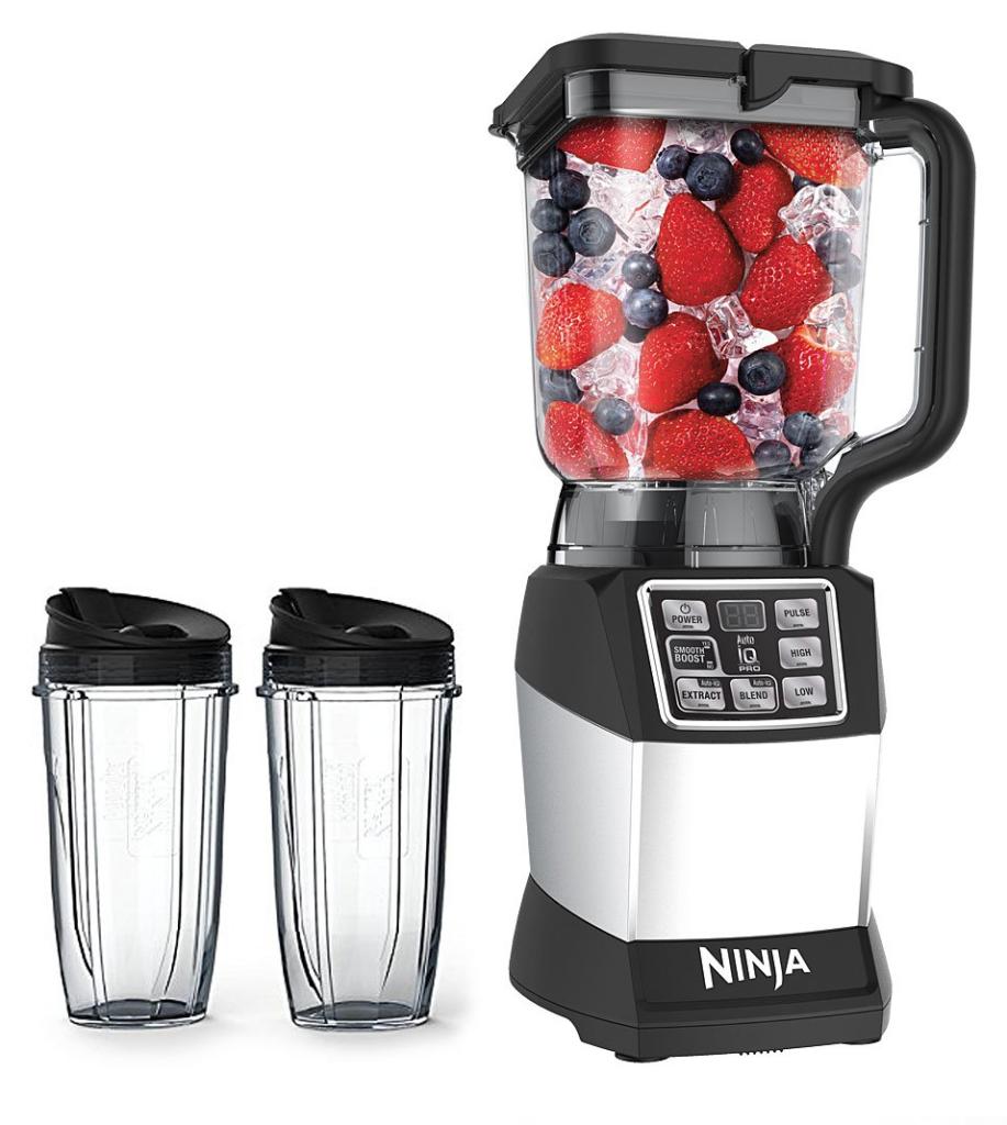 Nutri Ninja Blender - Auto-iQ, Nutri Ninja Cups, Bowl, Blades ...