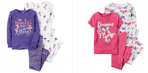 """838dde236 Place (1) Carter's 4-Piece Pajama Sets – $10.20 (Reg $26) – sort by price  """"low to high"""". Use the Kohl's Cardholder ..."""