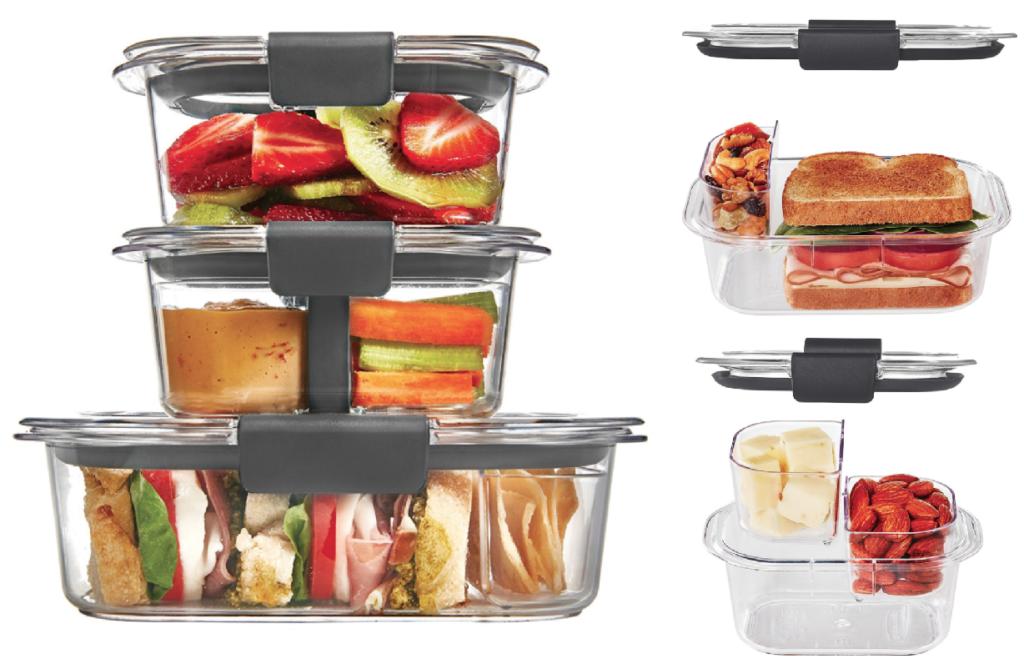Rubbermaid 10-Piece Brilliance Food Storage Container Set ...