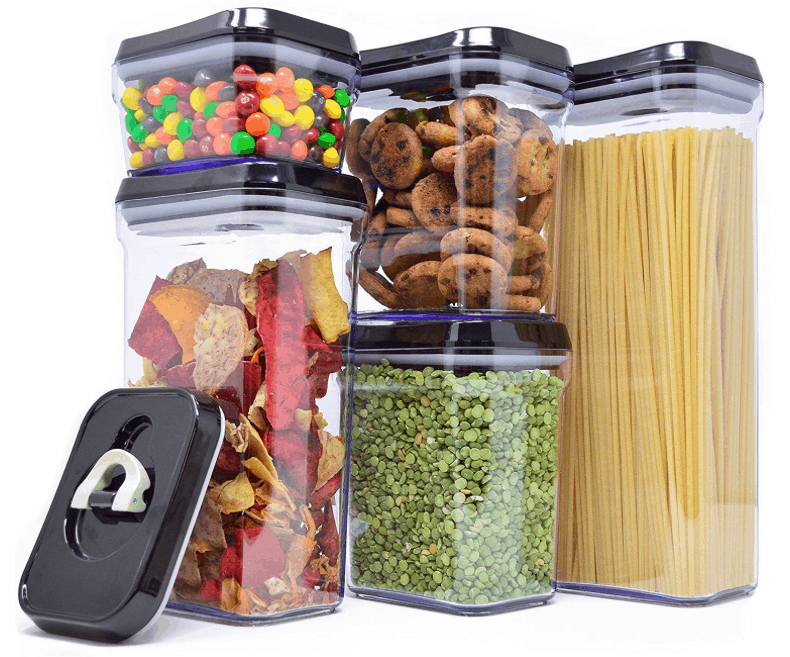 Rectangular Tall Food Storage Containers Under 480 Each