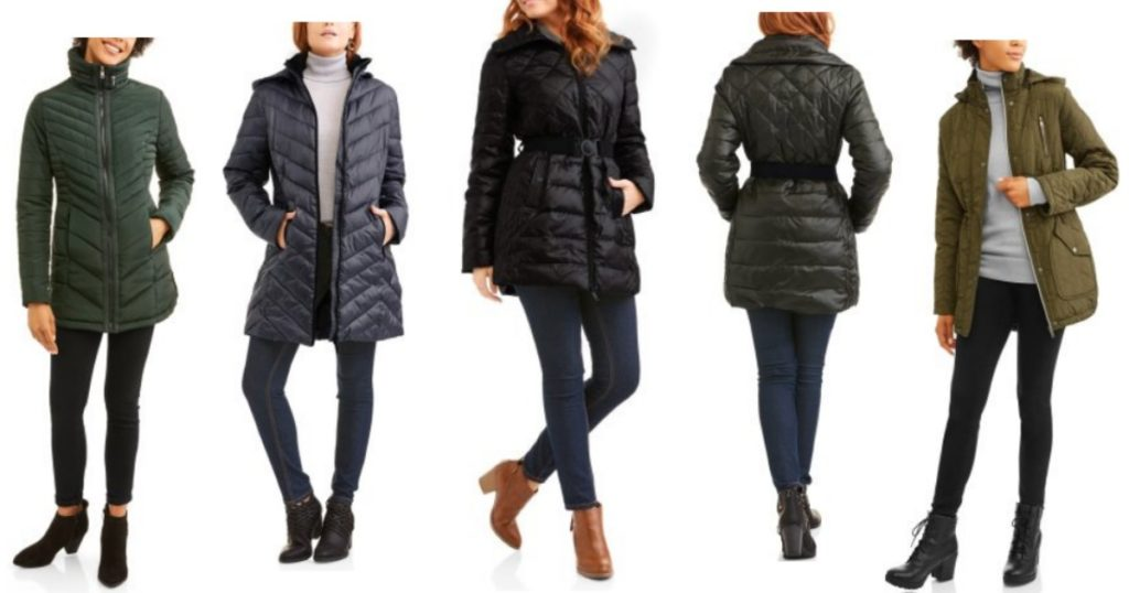 ccdaea5c0ce Walmart  Women s Down Puffer Coats only  8.50!