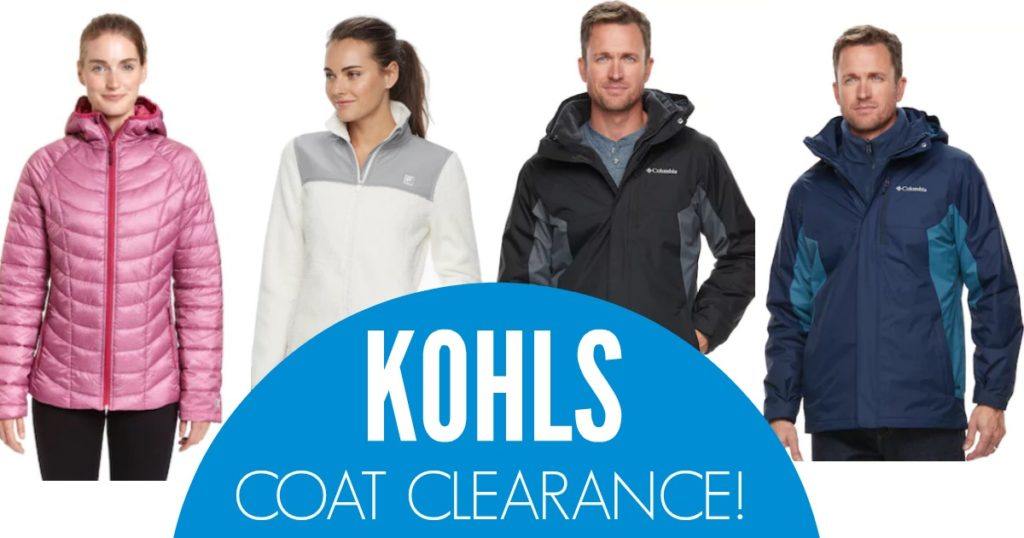 The men's and women's Kohls coat clearance deals are hopping right now - don't miss these CRAZY price drops!