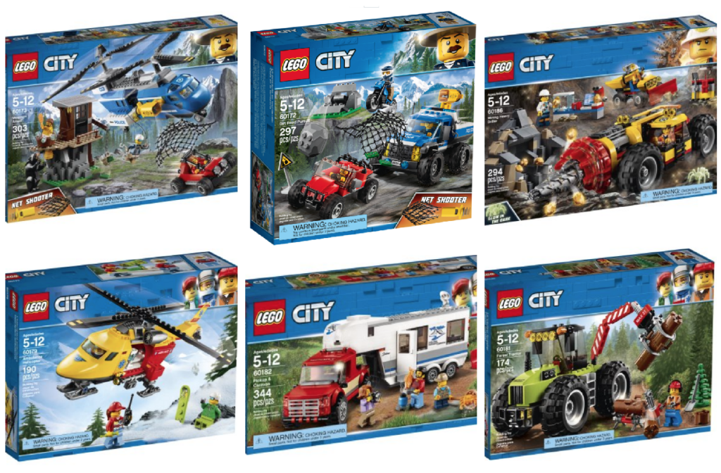 20% Off New 2018 LEGO City Sets! | Passionate Penny Pincher