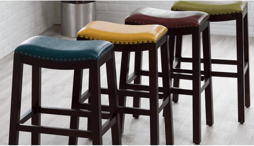 Terrific Kohls Saddle Seat Counter Stools Only 26 Shipped Ibusinesslaw Wood Chair Design Ideas Ibusinesslaworg