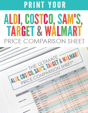 Print Your Ultimate Price Comparison Cheat Sheet