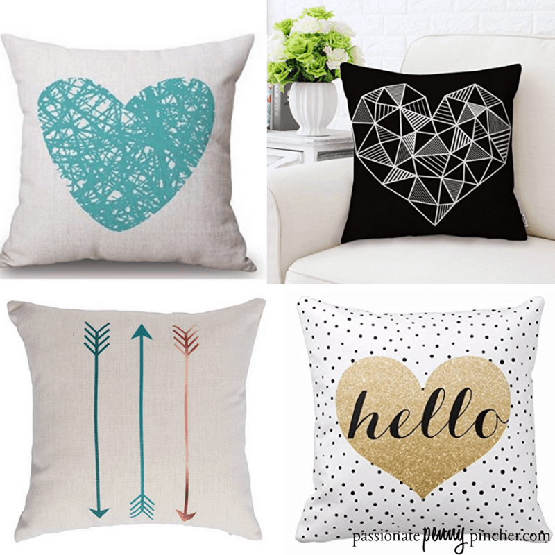Valentine's Day Decorative Pillow Covers Under 40 Shipped Awesome Cute Cheap Decorative Pillows