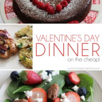 Valentine's Day Dinner (on the cheap!)