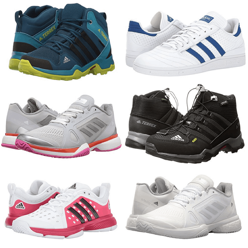 Right now on 6PM.com you can get select Adidas Shoes for up to 60% off!  That's a nice discount! Plus – as always, 6PM offers FREE Shipping when you  purchase ...
