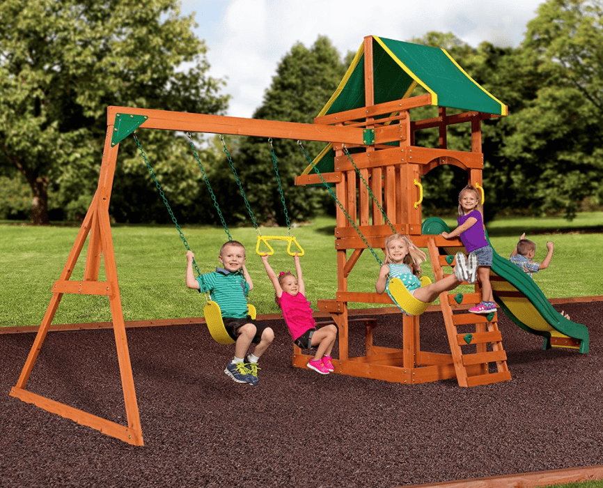 Cedar Summit Wooden Swing Set 249 Regularly 399 Passionate