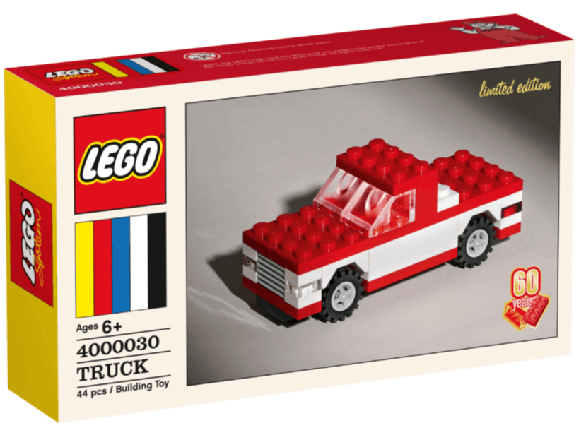 Lego Classic 60th Anniversary Limited Edition Truck 19 97
