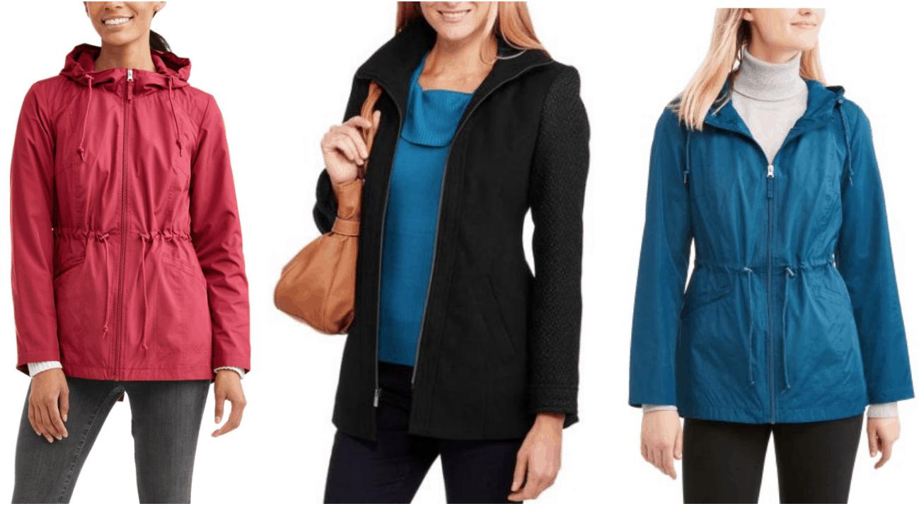 Women's Faded Glory Jackets as low as $7.50!