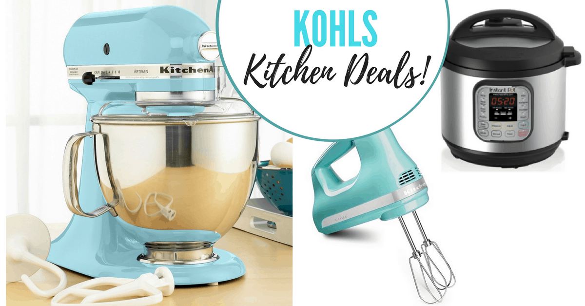 Kohl's | KitchenAid Stand Mixer and Instant Pot Steals! on fall ice, whirlpool refrigerator ice, coffee ice, champagne ice,