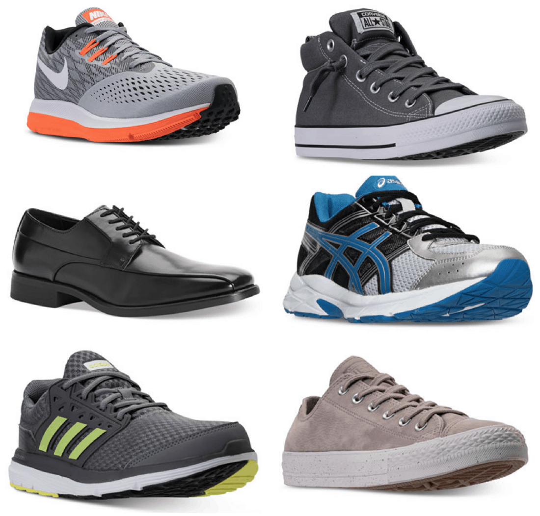 Right now at Macys.com you can get select Men's Shoes for up to 70% off!  That's a HUGE discount! Here are a few options: