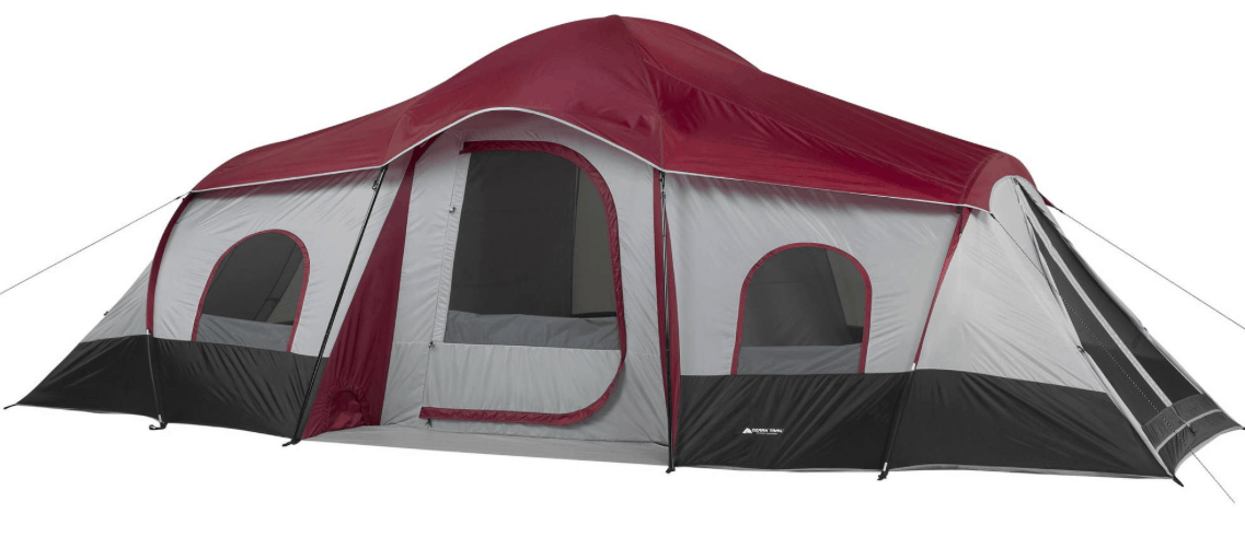Walmart.com is offering a great deal on this Ozark Trail 10-Person 3-Room Cabin Tent right now u2013 get it for only $89! If you have any c&ing trips on the ...  sc 1 st  Passionate Penny Pincher & Ozark Trail 10-Person 3-Room Cabin Tent $89 (Regularly $139 ...