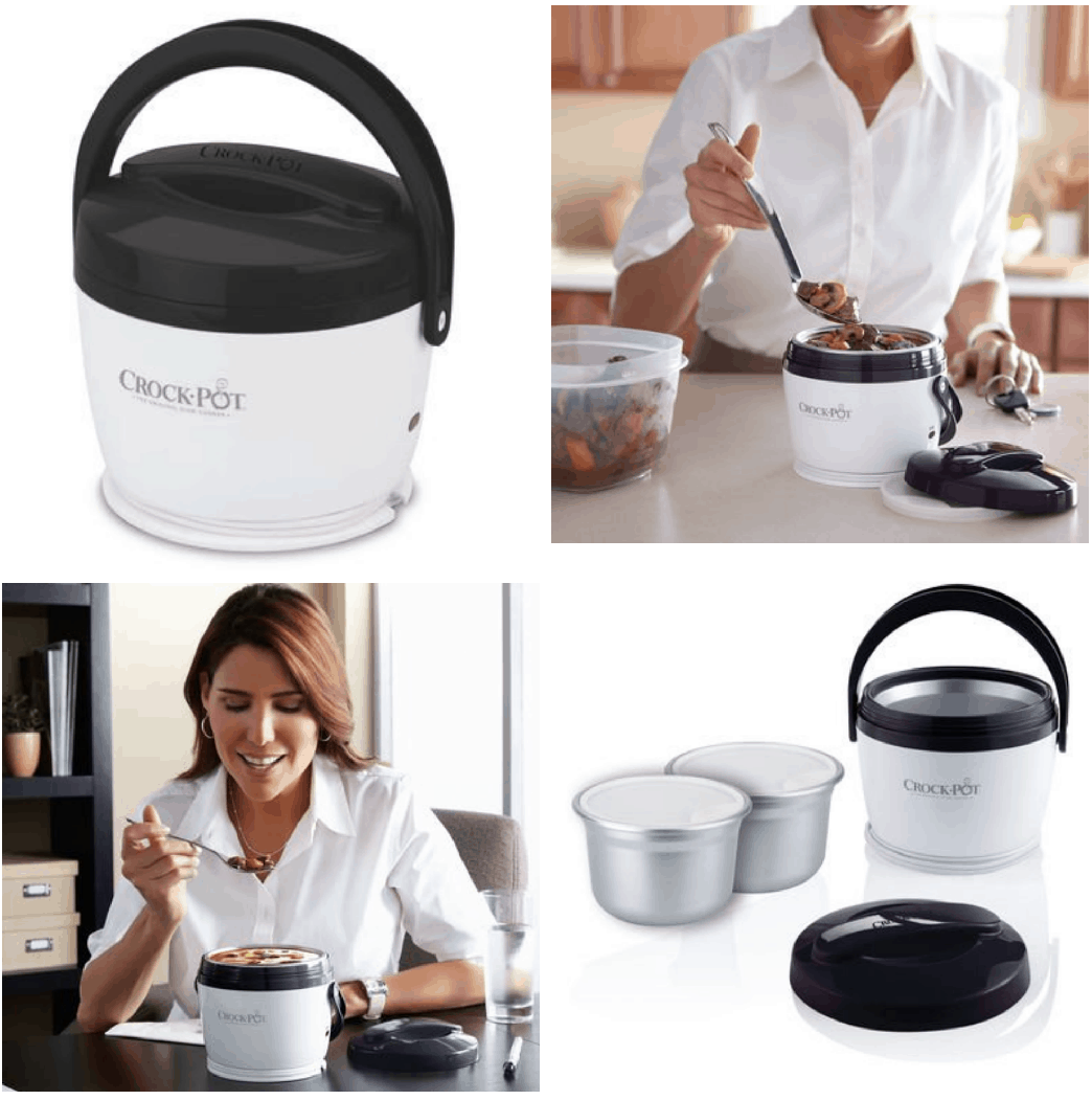 But the reason that this mini Crock Pot has stolen my heart is that it makes portion control so very easy—the interior container, which comes detached from the Crock Pot warmer itself, can only hold 24 ounces of liquid or a similar amount of solid food.