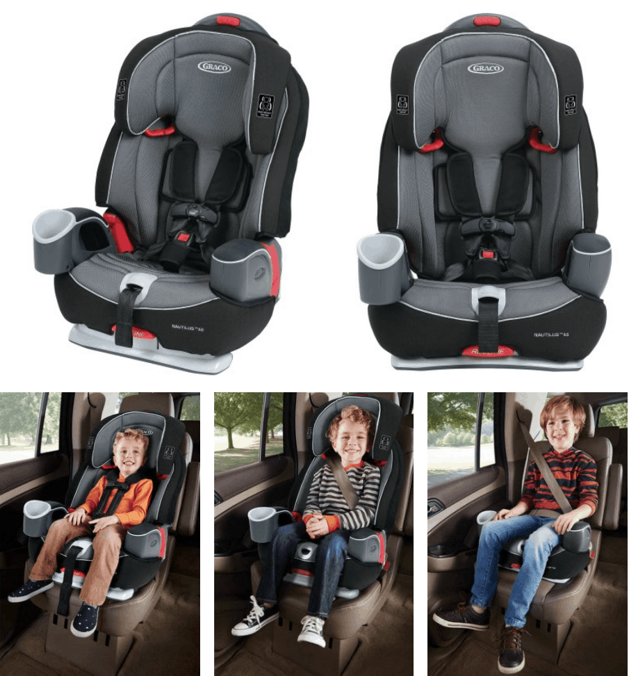 Graco 3-in-1 Booster Car Seat $89.99, Shipped!