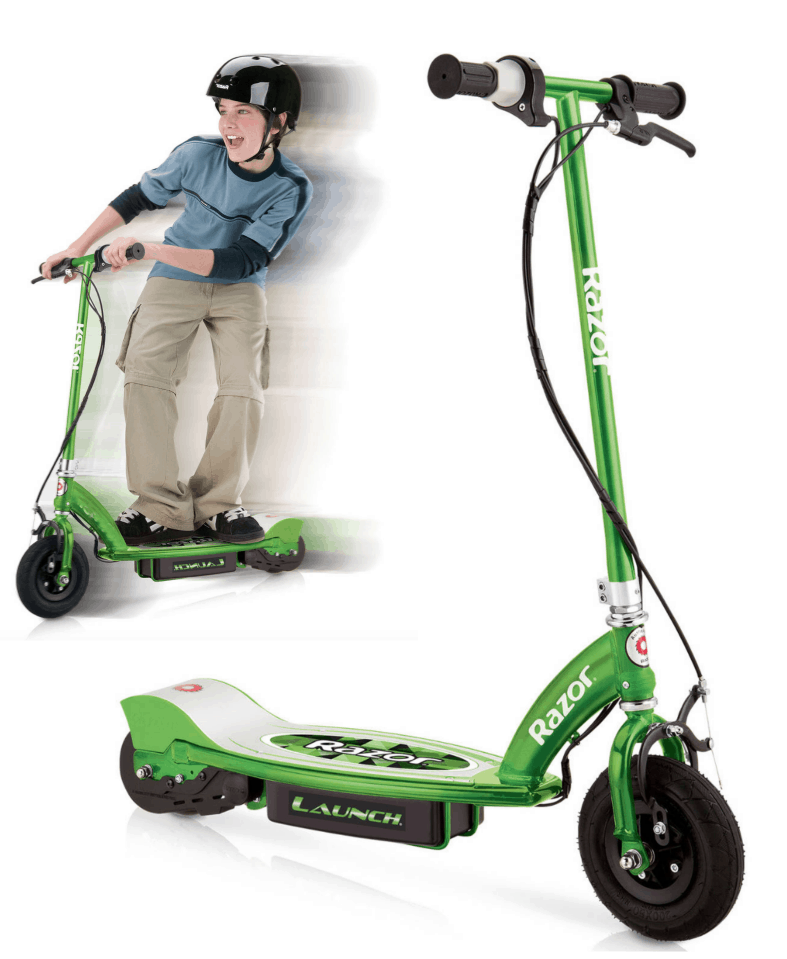 Razor e100 electric scooter 69 shipped regularly 149 for Motorized scooter black friday