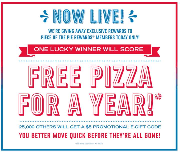 Online promo codes saving printable coupons head over here and be one of the first 25000 to sign up to receive a 5 domonos e gift card or maybe youll get really lucky and score free dominos fandeluxe Gallery