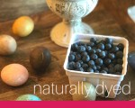 Natural Dyed Easter Eggs In The Instant Pot