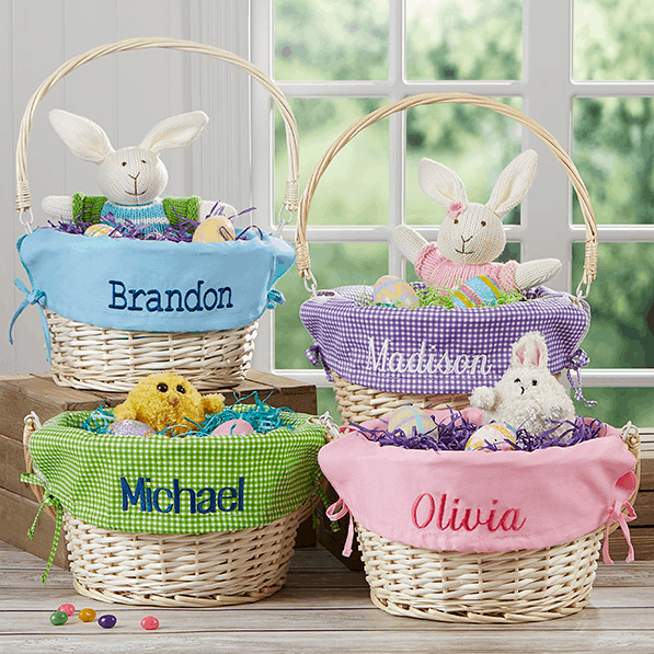 Personalized Easter Baskets W Liners Only 27 Compare