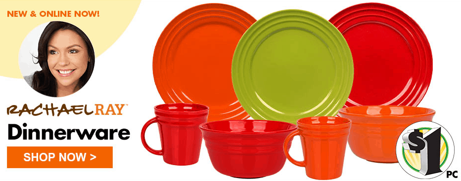 The Dollar Tree just announced on their Facebook Page that theyu0027re now carrying Rachel Ray Dinnerware for only $1 apiece at DollarTree.com!  sc 1 st  Passionate Penny Pincher & Rachel Ray Dishes at Dollar Tree only $1 Each! | Passionate Penny ...