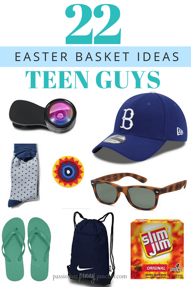 22 teen boy easter basket ideas passionate penny pincher speaking of graduation have you seen my graduation gift ideas guide yet negle Image collections