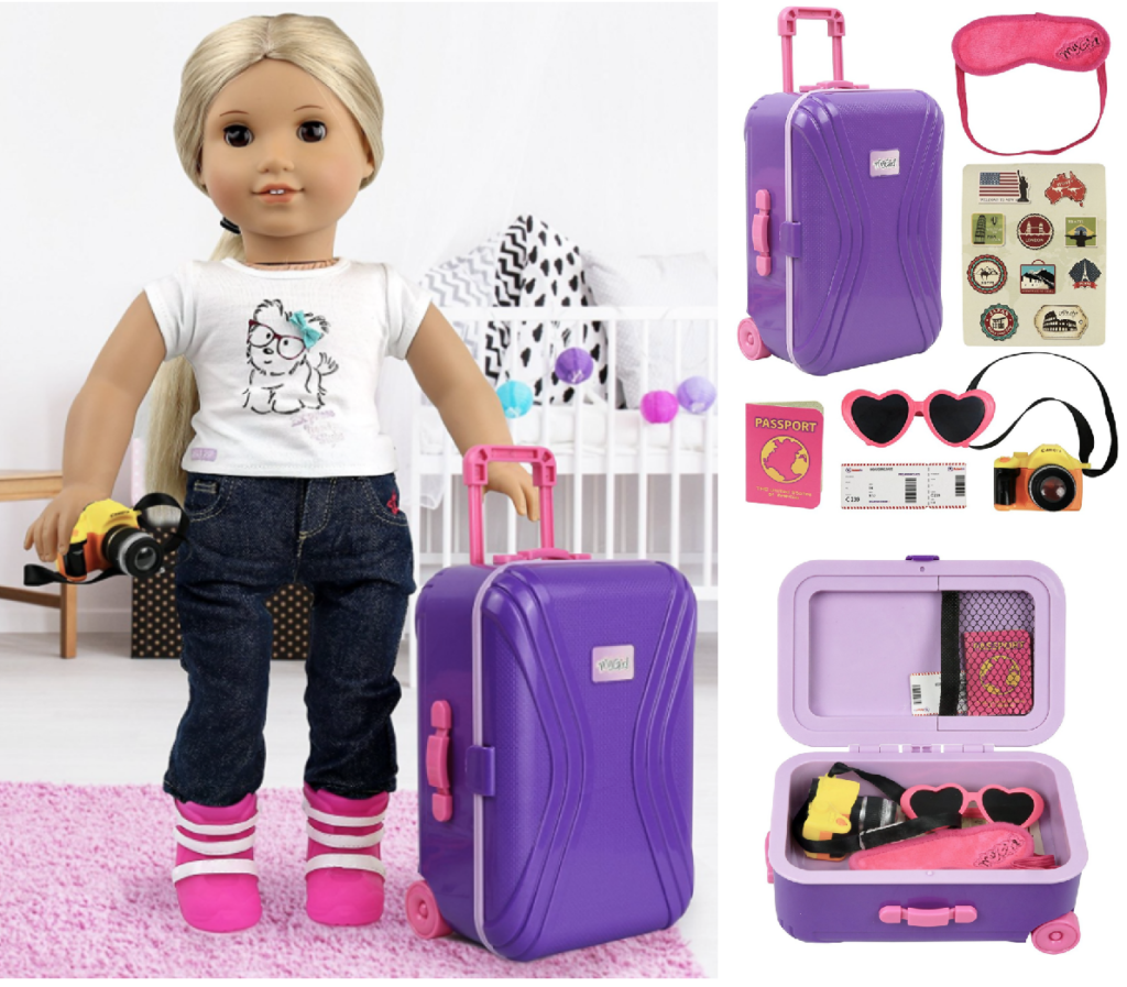 American Girl Inspired 7 Piece Suitcase Set Under 1345 Lowest Price