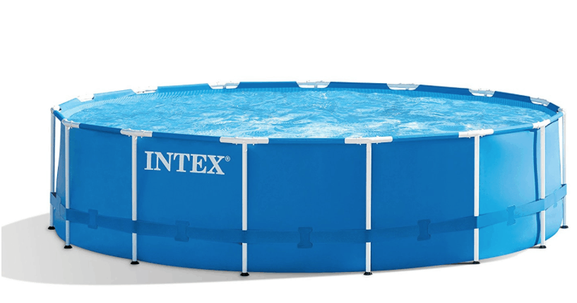 Intex Round Ultra Frame Pool 14ft X 42in Set Only 199 Passionate Penny Pincher