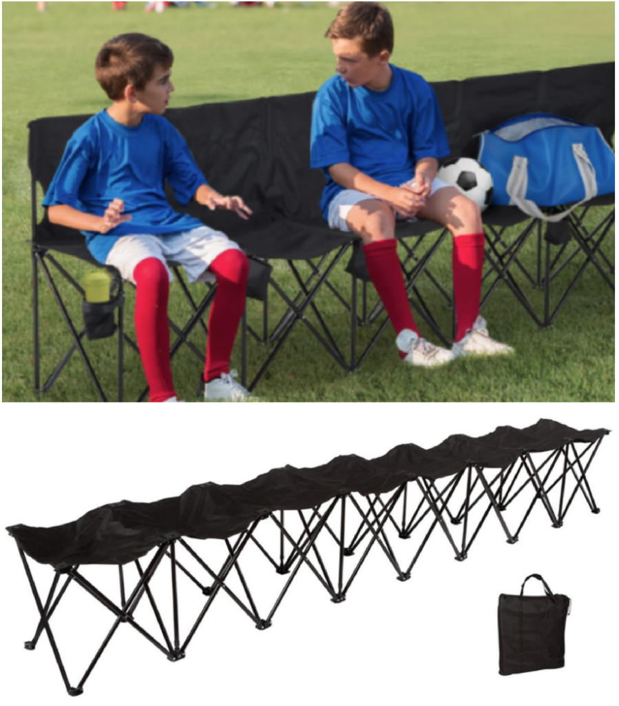 portable folding sports bench 40 regularly 79