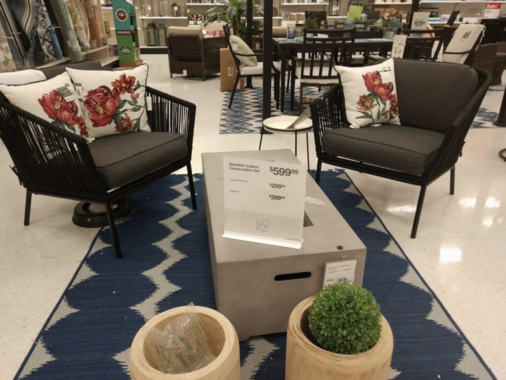 Target Patio Furniture On Sale For 30 Off Ends 4 27 6 Steals We