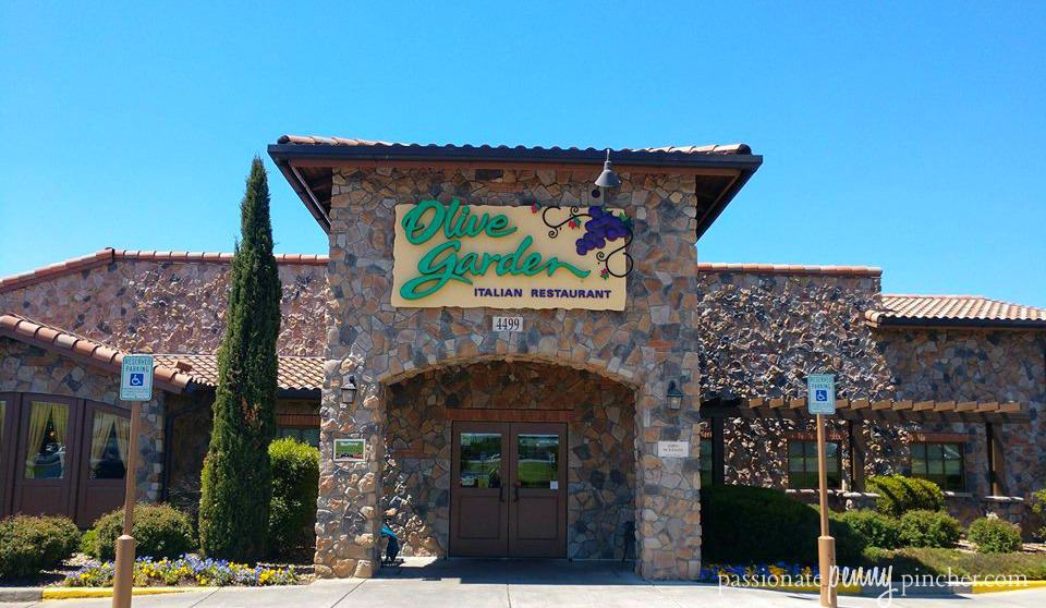 Current Olive Garden Specials We Love 1 Kids Meals Buy One Take One More Passionate