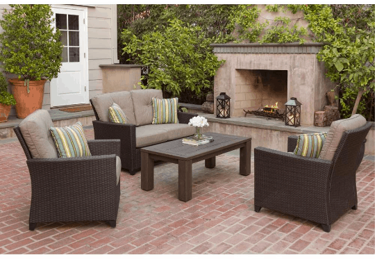 home depot patio furniture on sale up to 40 off sets rh passionatepennypincher com home depot patio set sale home depot sale patio furniture