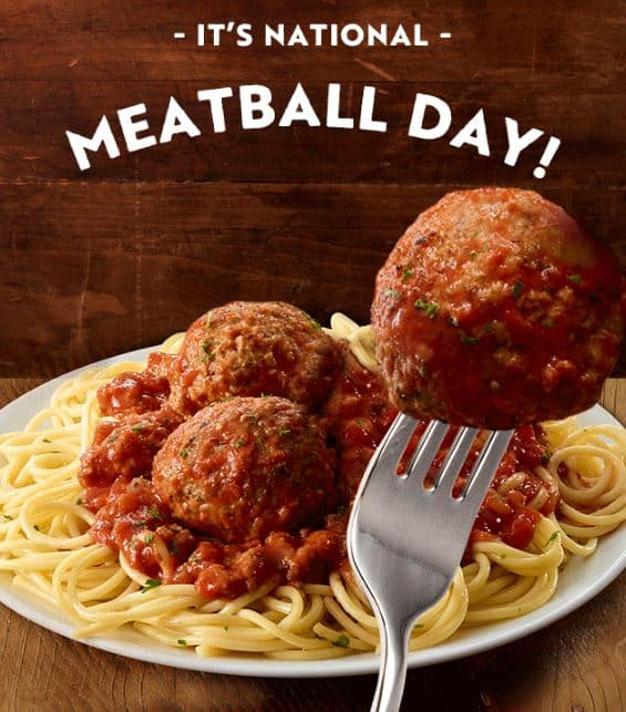 Free meatballs at olive garden today 9 more ways to save - Olive garden spaghetti and meatballs ...