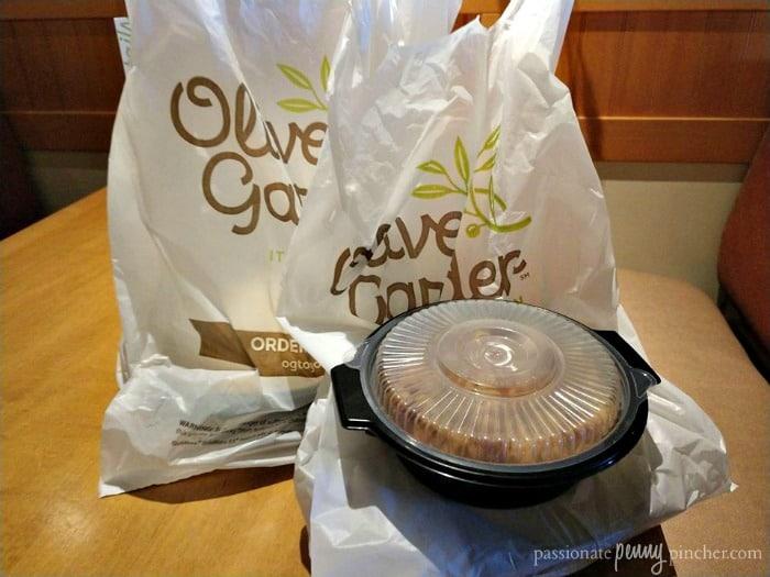 Olive Garden Buy One Take One Promo