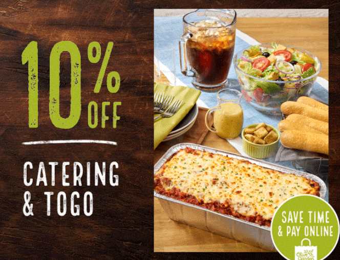 9 order online to save more sometimes olive garden - Olive Garden Lunch Time