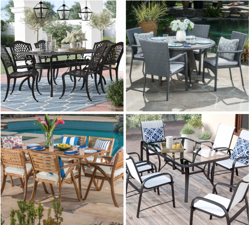 Outdoor Dining Sets Up To 65 Off At Wayfair