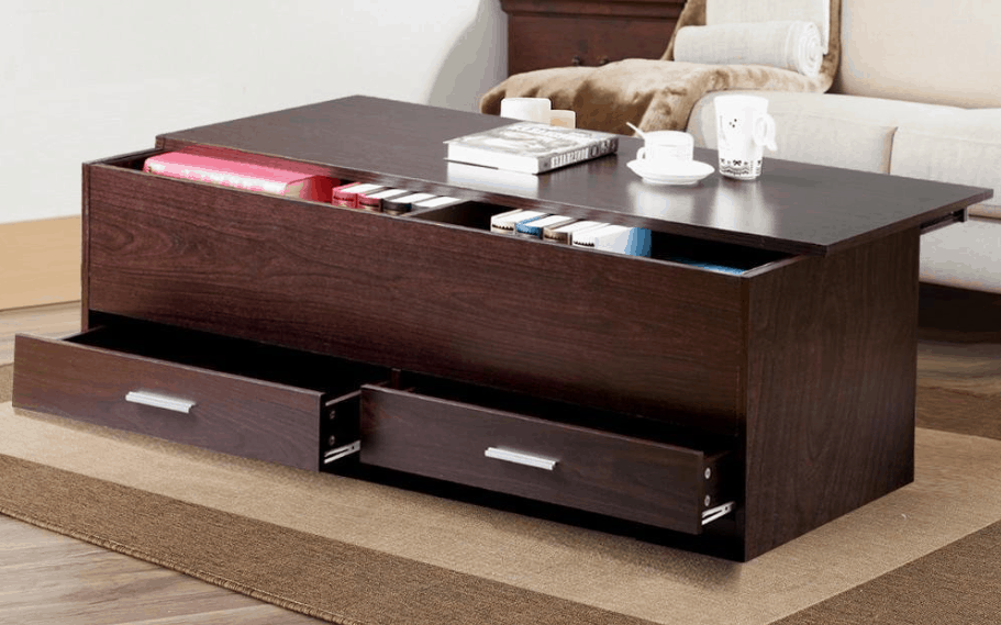 Living Room Slide Top Trunk Coffee Table With Storage Box $62.99 (Lowest  Price)