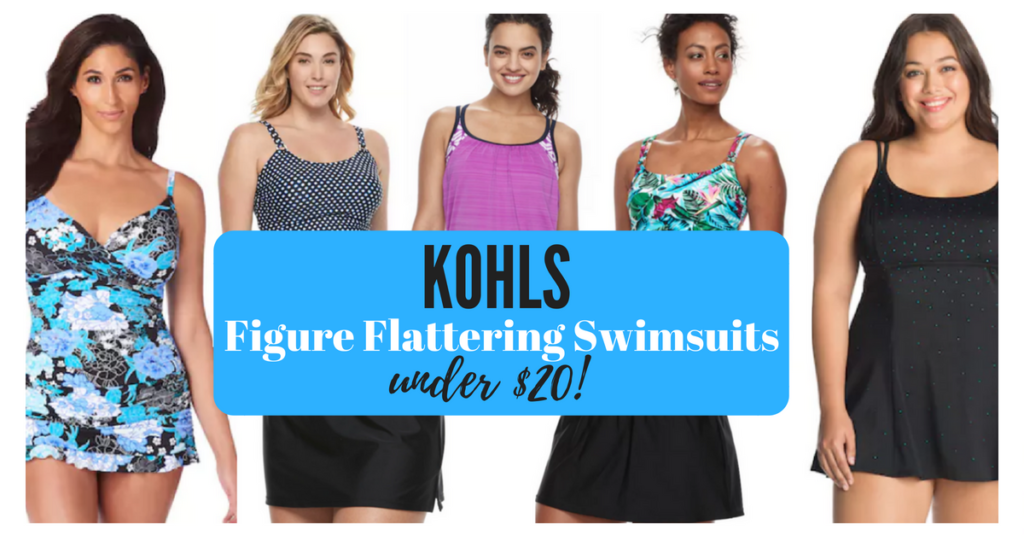 bb92c1f26a Women s Plus-Size Swimsuits at Kohl s UNDER  20! (Swimdress only  27.49)
