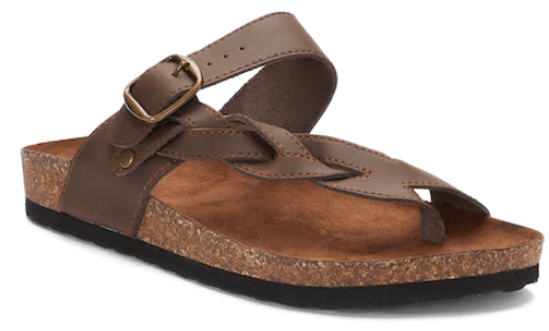 ad793de5d5ed0 Sonoma Goods for Life Maurine Women s Leather Sandals –  39.99 (Reg  49.99)  Use code SERVICE10 for  10 off  25. Use 15% OFF Text Code you ll get by  texting ...
