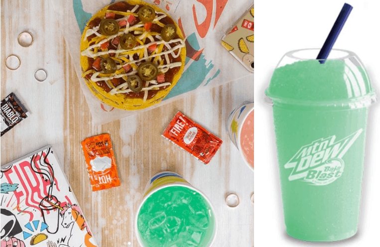 Taco bell happy hour deals