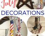 4th of July Decorations: Star Wreath and Kids Firecracker Craft