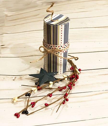 DIY 4th of July Decorations: Kids Firecracker Craft