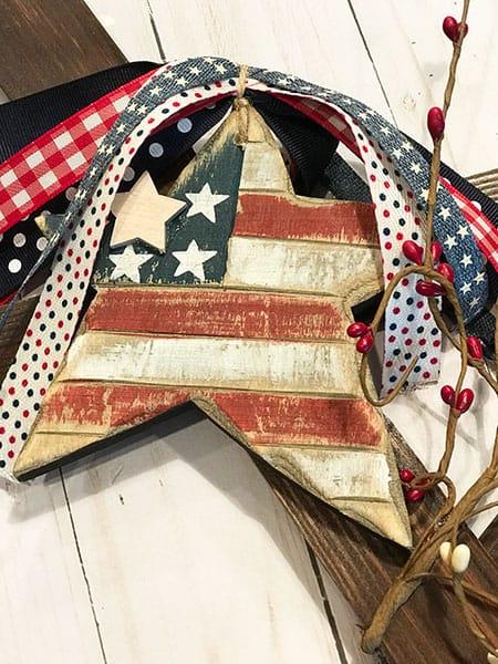 Flag Star Decoration
