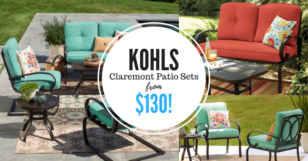 Beau Head Over To Kohlu0027s And Snag One Of These SONOMA Claremont Patio Sets For  As Little