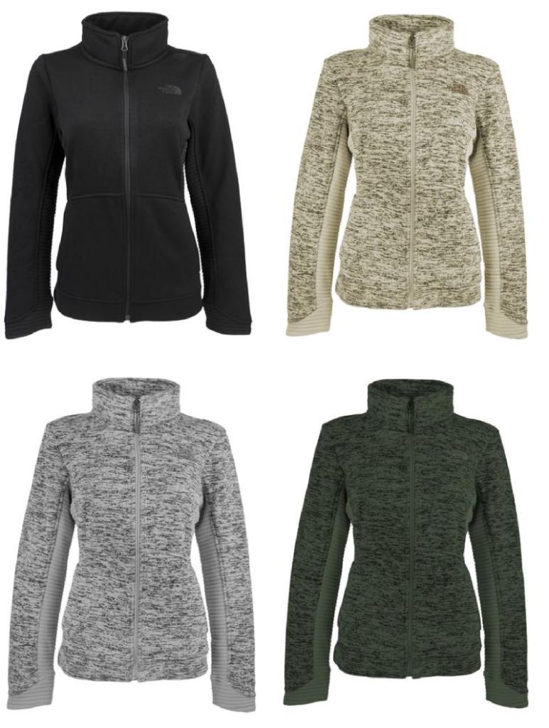 6e8bf1562 North Face Women's Indi Full Zip Fleece Jacket $48, Shipped!